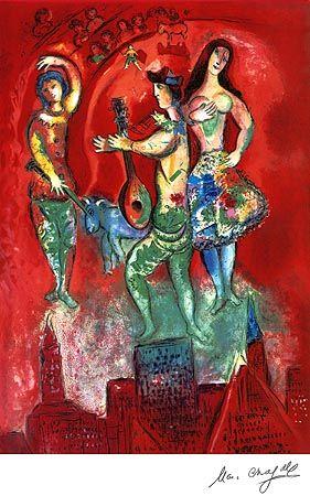Carmen, Marc Chagall