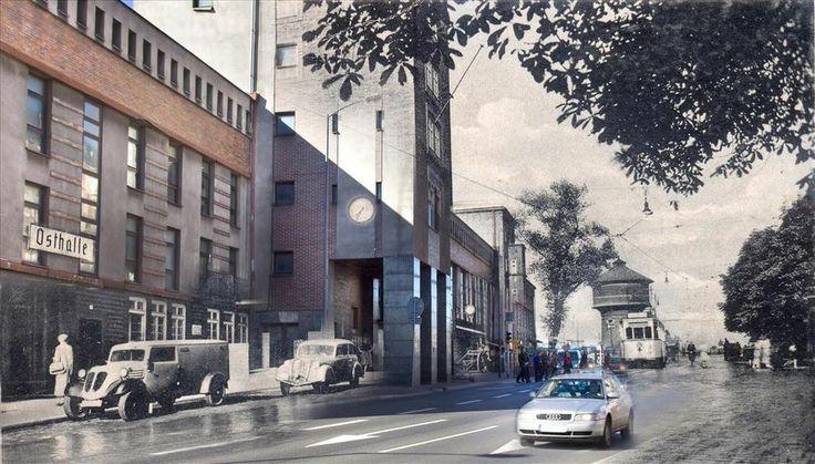 Dworzec kolejowy w Bytomiu - 1930 r. / 2014 r.