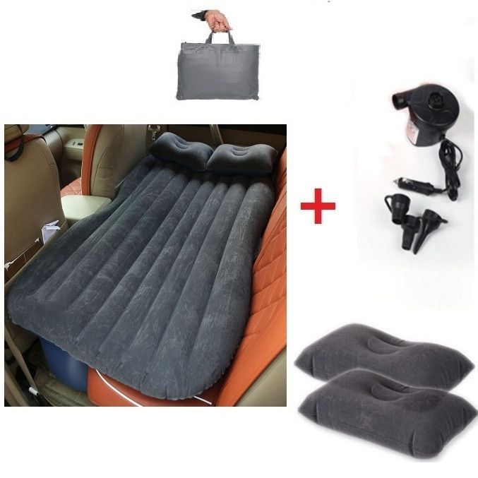 Leather Sofas Inflatable Car bed Car Air Mattress Travel Bed Inflatable Mattress Air Bed send DHL Products Pinterest Inflatable car bed Air mattress and Products