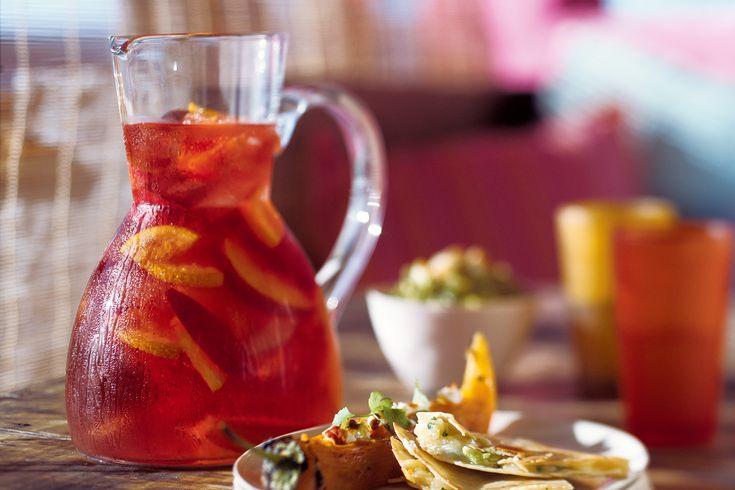 Rose Sangria With Peaches Recipe - Taste.com.au