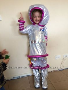 homemade girl astronaut costume - Google Search