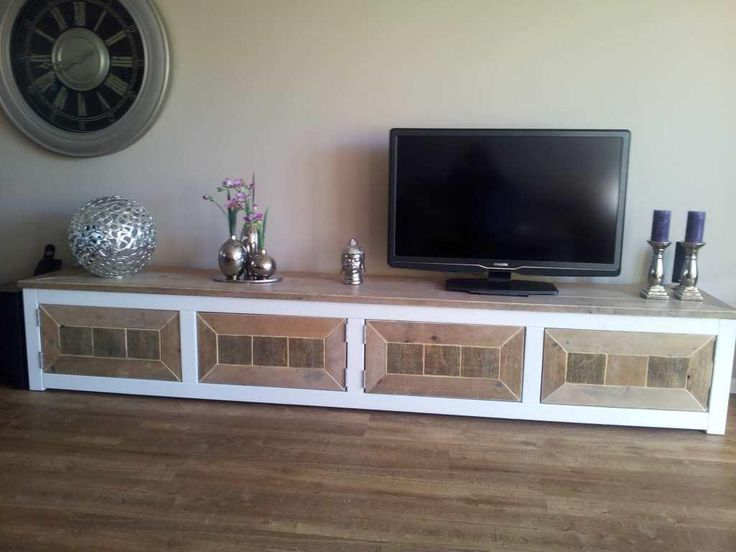 Steigerhout tv meubel ilaria steigerhout furniture for Steigerhout tv meubel