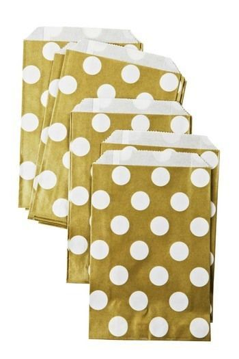 Gold Spot Paper Bags