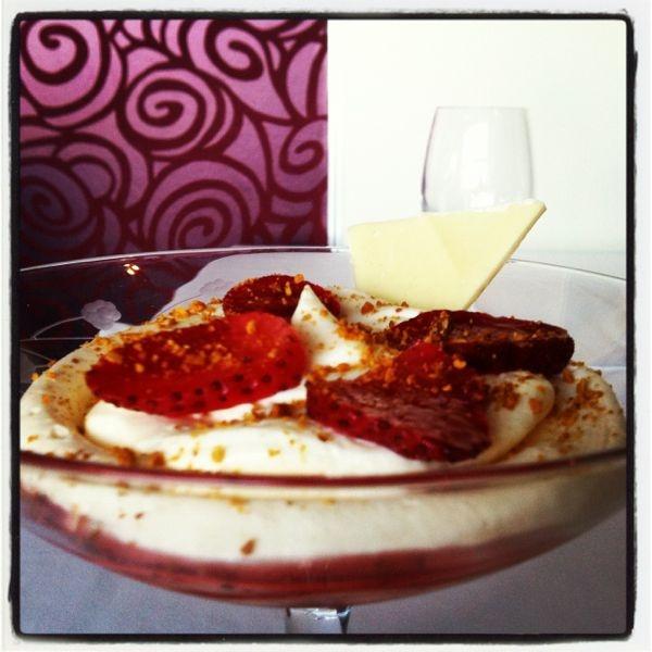 Tarta de queso del Restaurante Vitruvio en el Hotel Spa Torre Pacheco http://www.hotelspa-torrepacheco.com/esp/index.php