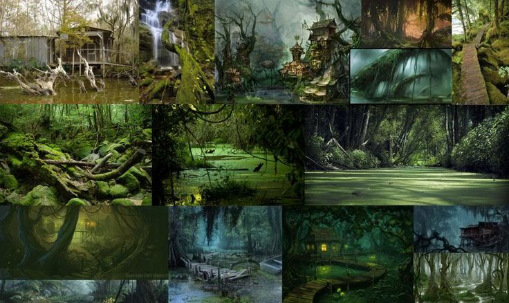 Swamp environment - Polycount Forum