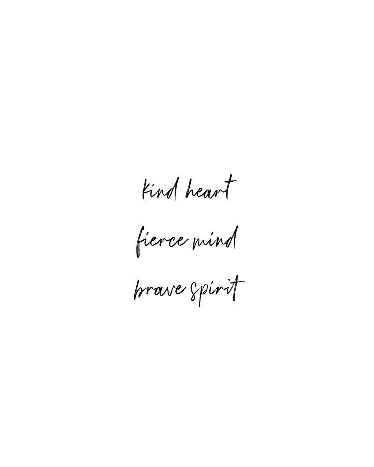 Printable Boho Quote | Kind Heart, Fierce Mind, Brave Spirit | Wall Art & Print | Instant Download | 5×7 | 8×10 | 11×14 | 16×20 | 20×30 | A4 – Judith Rajagopal