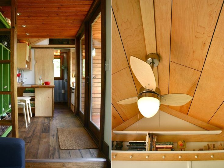 michael janzen and created the tall mans tiny house its long 13 3 tall total not the interior and includes three roomy segments of seven feet - Tiny House Trailer Interior