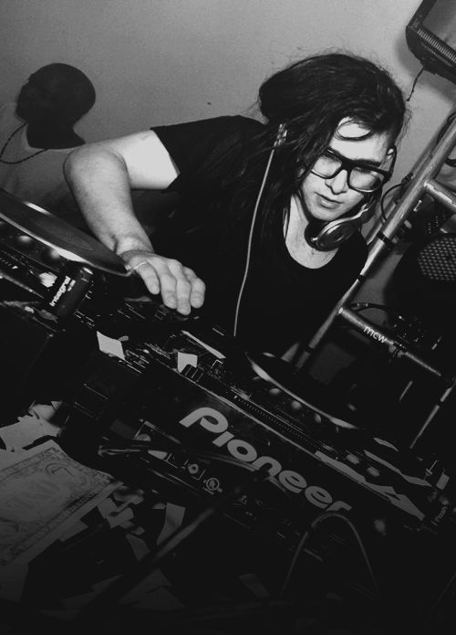 Skrillex...I can't wait, I'm finally going to see this beautiful man in concert!!! June can't come fast enough!!!