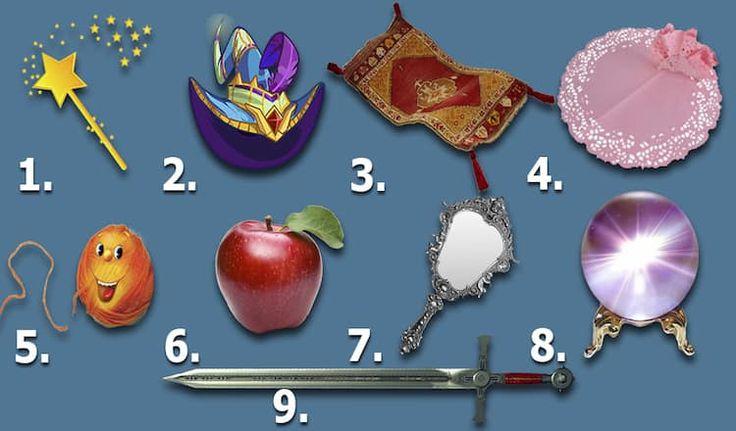 Тест: «Два волшебных предмета» Узнайте о себе кое-что интересное!