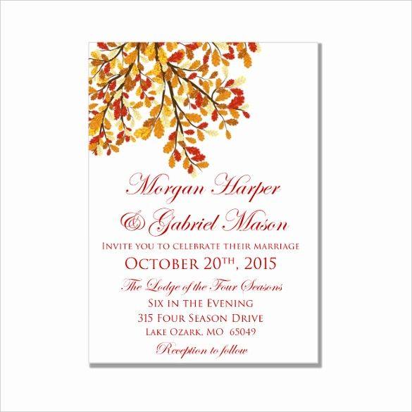 Microsoft Word Invitation Template Free Best Of Microsoft Word Wedding Wedding Invitation Templates Diy Wedding Invitations Templates Fall Wedding Invitations