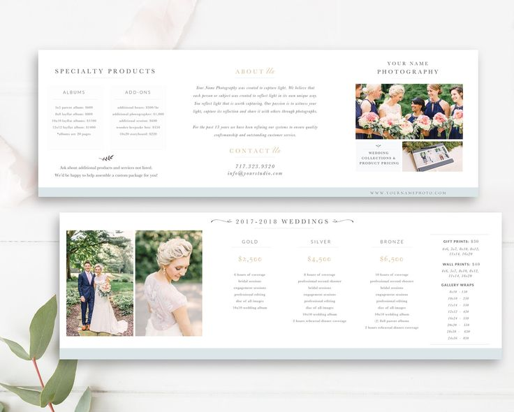 Best Marketing  Design Templates For Photographers Images On