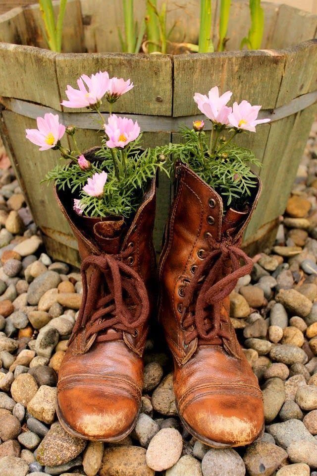 40 Kreative Diy Gartenbehalter Und Pflanzgefasse Aus Recycelten Materialien Diy Gartenbau Gartencontainer