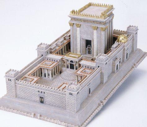 King Solomon's Temple in Jerusalem (Source: TempleModels.com)