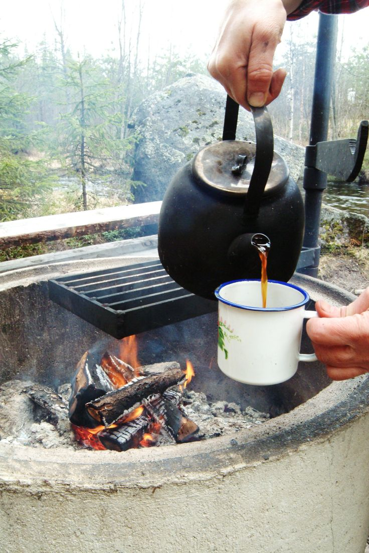 Coffee in a traditional way