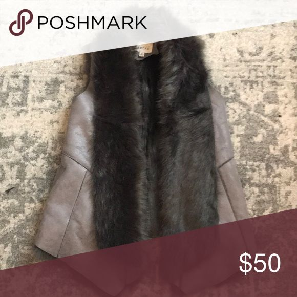 Faux Fur Vest Sabine faux fur vest. In great condition, very soft and doesn't feel cheap or fake. Sabine Jackets & Coats Vests