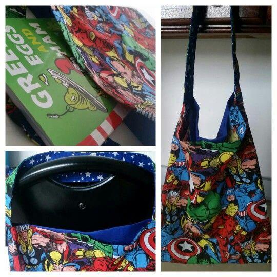 Handmade Library Bag