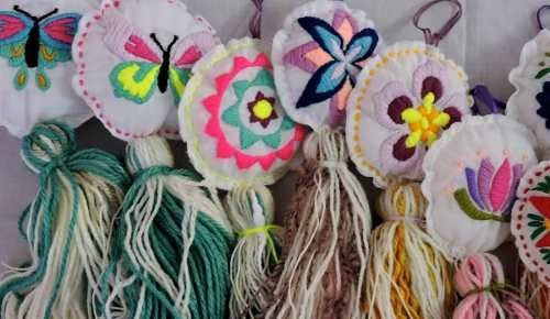 borlas | bordado mexicano