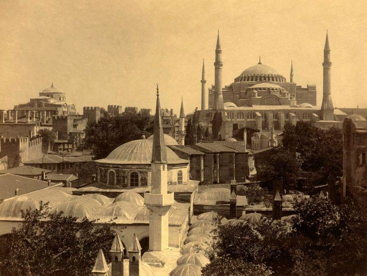 Храм св. Софии в Константинополе. Фотографии кон. 19 - нач. 20 в.