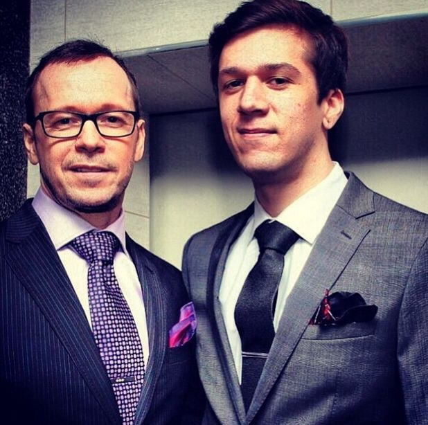 Donnie Wahlberg And Sons 2015