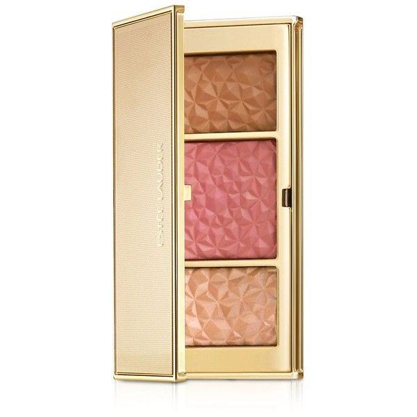 Estee Lauder Summer Glow Multi-Palette, Bronze Goddess Collection (190 BRL) ❤ liked on Polyvore featuring beauty products, makeup, cheek makeup, cheek bronzer, beauty, cosmetics, no color and estée lauder