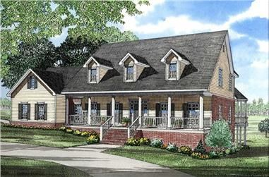 5 Bedroom House Plans - Big House Plans for Large Families