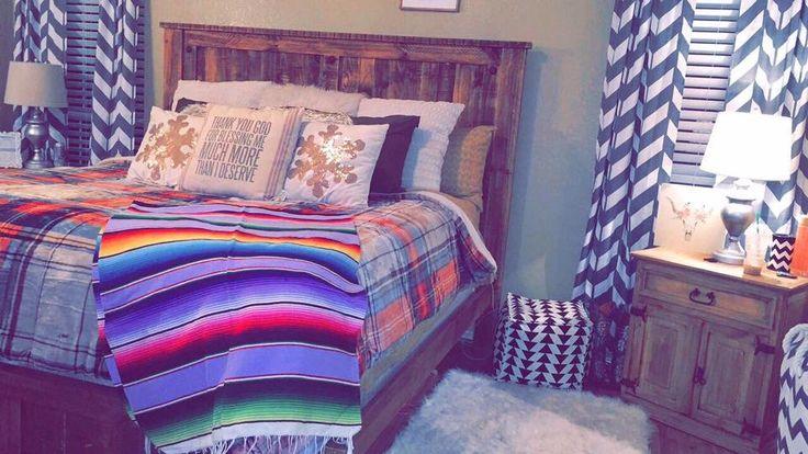 serape, Aztec, southwest, tribal bedroom décor