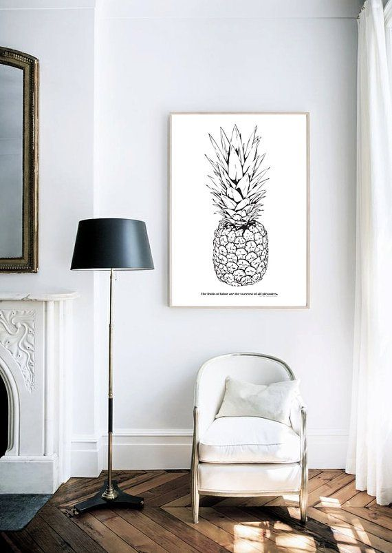 Micro Trend: Pineapples - decor8: