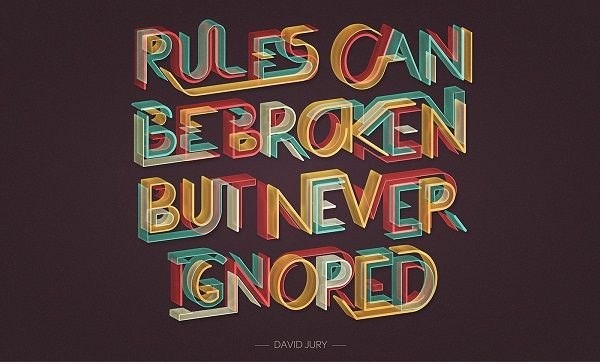 Stunning Typographic Quotes That Revolve Around Design And Creativity - DesignTAXI.com