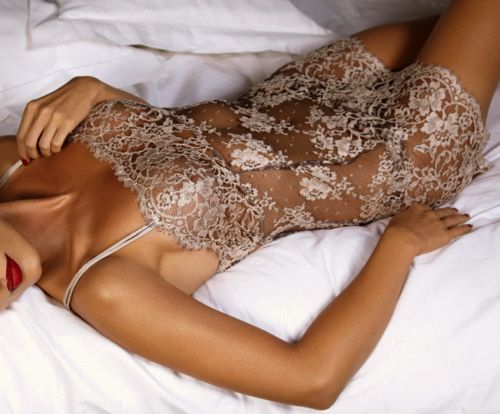 Don't usually wear things like this to bed but this is beautiful.