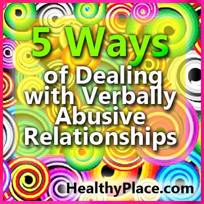 The key to dealing with verbally abusive relationships and verbal abuse in marriage is how the victim responds to verbal abuse. Read more.