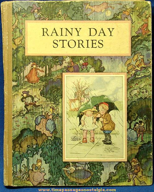 Old McLoughlin Brothers Rainy Day Childrens Story Book