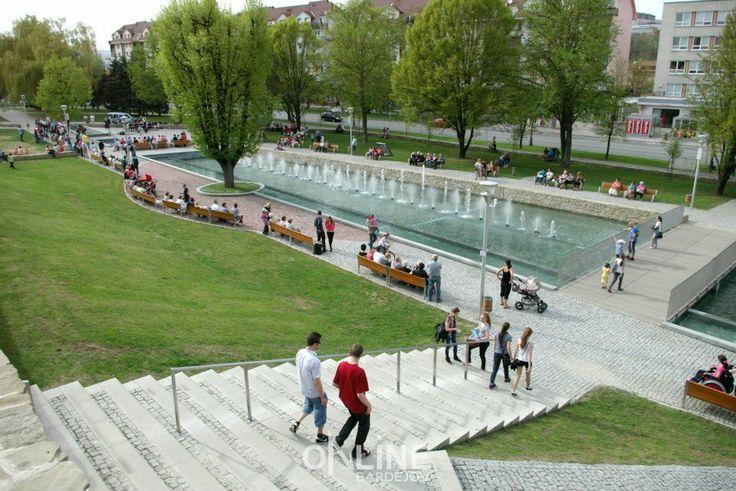 Promenádny park, Bardejov, Slovakia