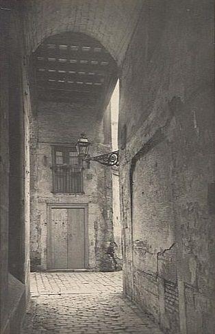 Carrer Malcuinat, Barcelona 1922