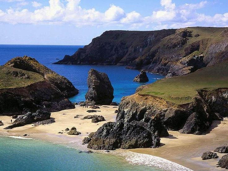 Kynance Cove, Cornwall - England. One of the most beautiful beaches in England.
