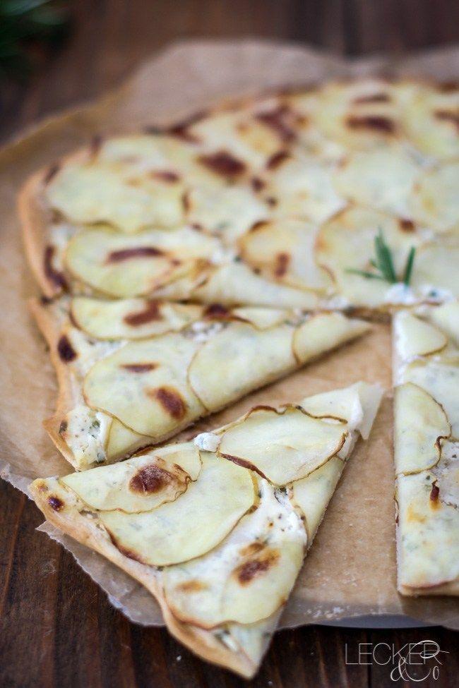 Kartoffelpizza - LECKER&Co | Foodblog aus Nürnberg