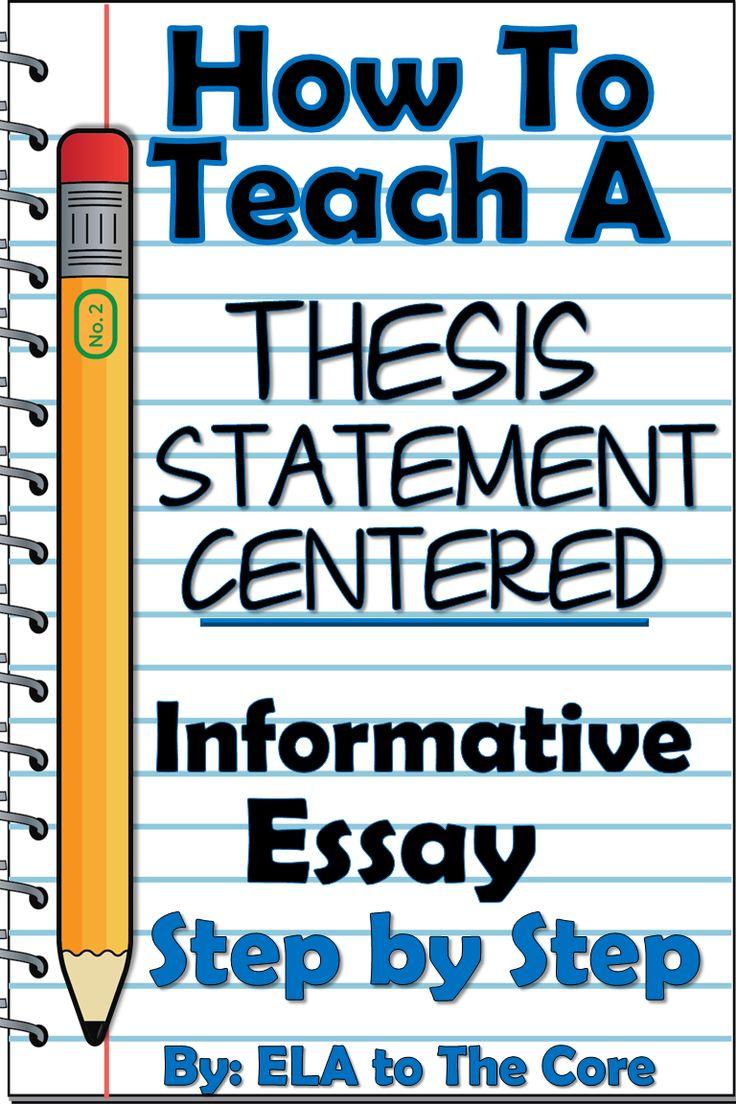 Teach informative writing like a pro! Teach introduction