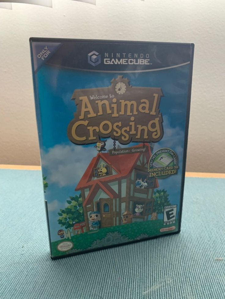 Animal Crossing For Gamecube Includes Game Box And Orignal