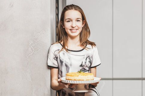 Tenhle citronový cheesecake od mladičké blogerky Kristínky si zamilujete