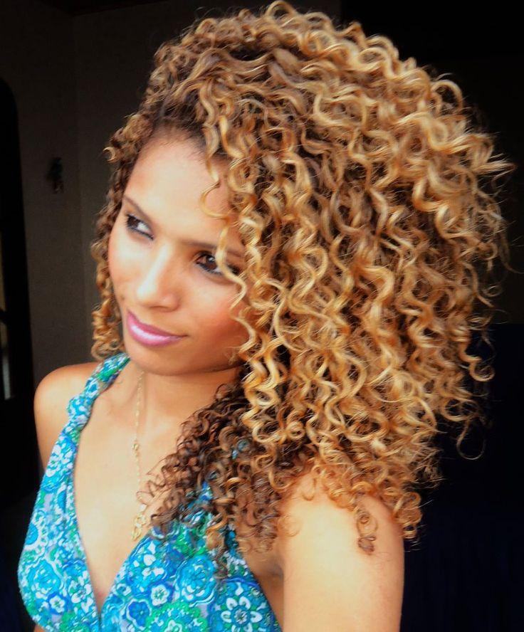 cabelo natural loiro lindo..