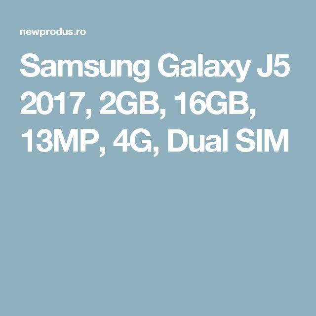 Samsung Galaxy J5 2017, 2GB, 16GB, 13MP, 4G, Dual SIM