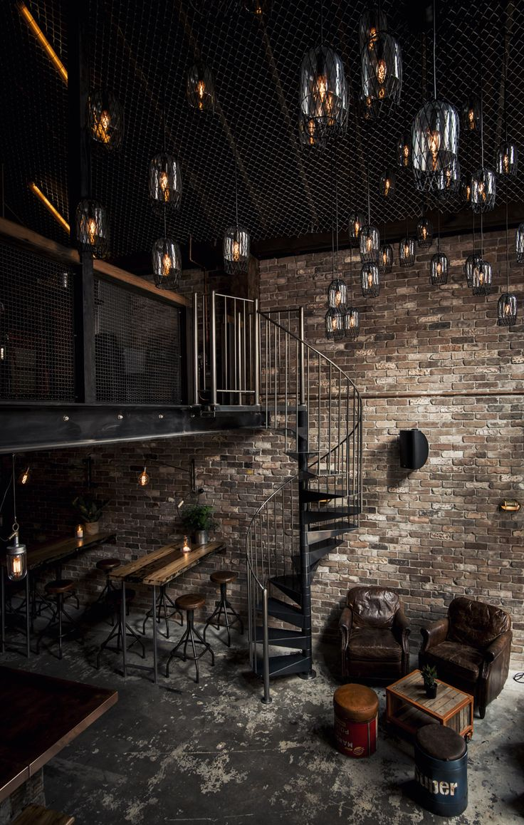 Donny's Bar, NSW, Australia, was created by the designers from an unpromising former commercial space into a New York loft style bar on a limited budget.