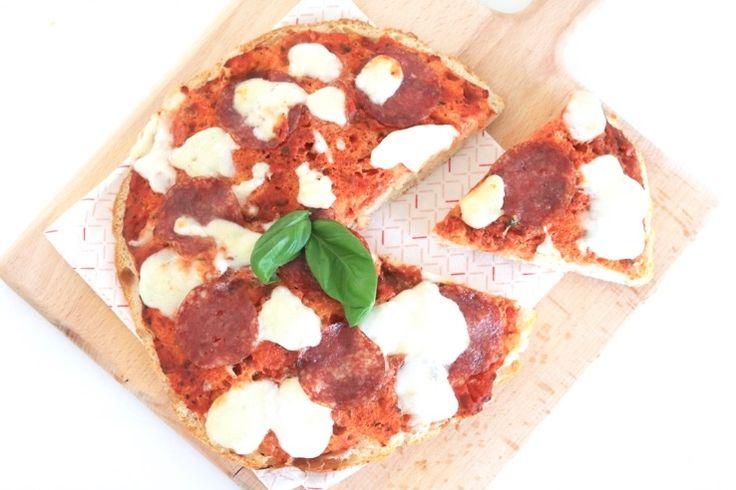 Turkse brood pizza - Chickslovelittleones.com
