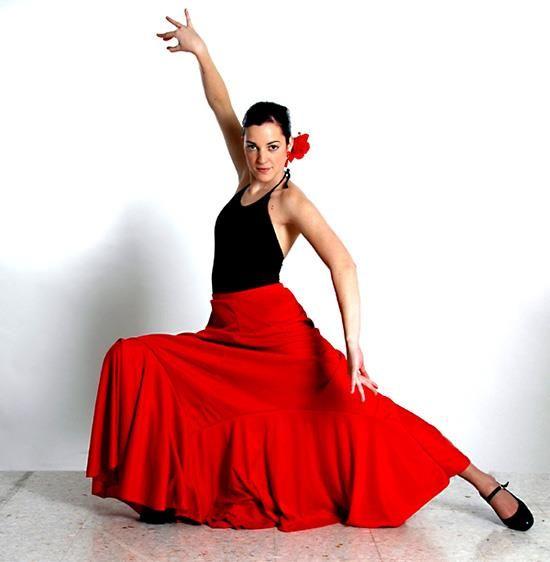 Детская юбка для фламенко