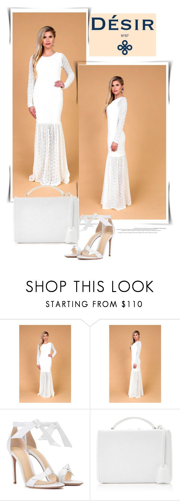 """""""DesirVale"""" by newoutfit ❤ liked on Polyvore featuring Alexandre Birman, Mark Cross, StreetStyle, chic and dress"""