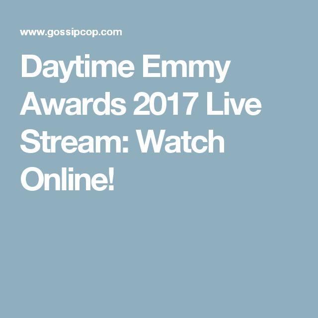 Daytime Emmy Awards 2017 Live Stream: Watch Online!