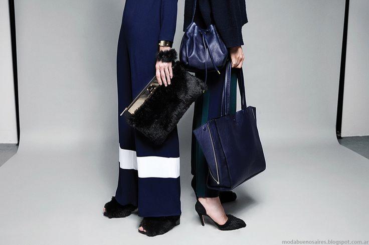 Moda otoño invierno 215 zapatos y carteras María Cher.