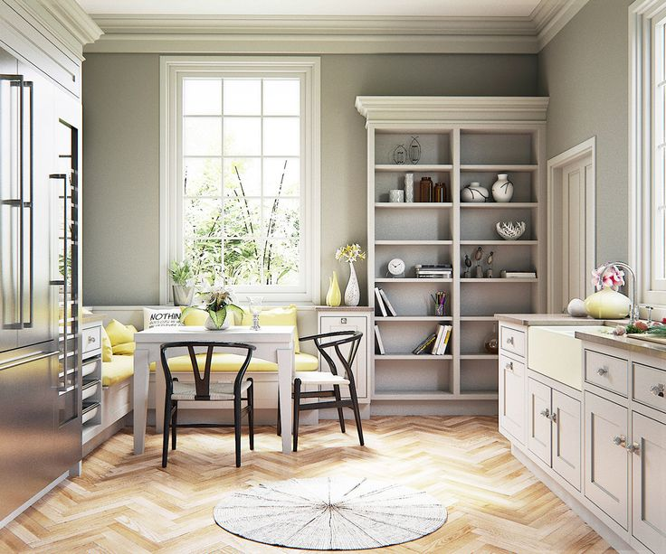 22 Beautiful Breakfast Nooks That Add To Your Kitchen's Charm