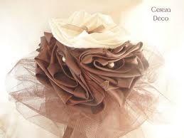 bouquet mariage chocolat ivoire - Recherche Google