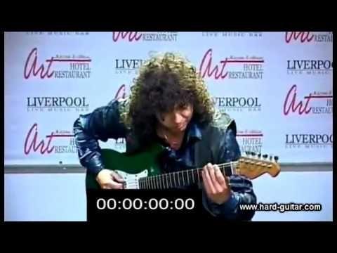✰✰✰✰✰Raskeste gitarist i verden: 27 noter per sekund på gitar (Sergiy Pu...