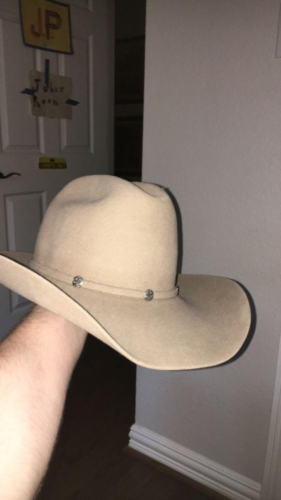 f0ea6ca17 MHT Westerns Cowboy Hat Size 55 6&7/8 Beaver Blend 3X #fashion ...